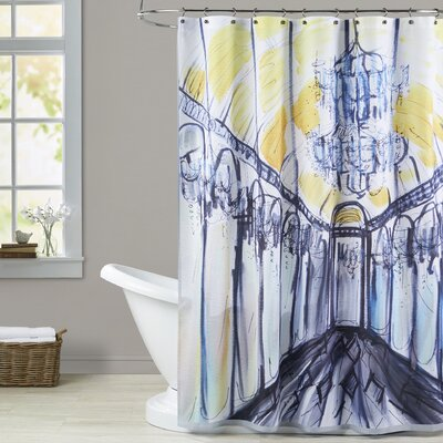 Winnett Hall of Mirrors Shower Curtain