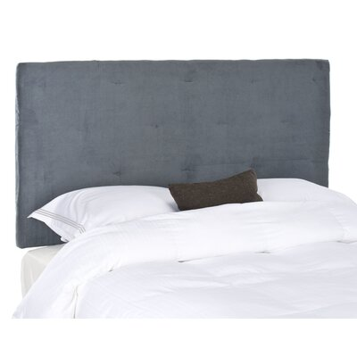 Orpington Upholstered Panel Headboard Upholstery: Grey, Size: Queen