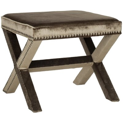 Tally Ottoman Upholstery: Antique Sage