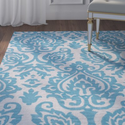 Southwell Hand-Tufted Blue Area Rug Rug Size: Runner 26 x 8