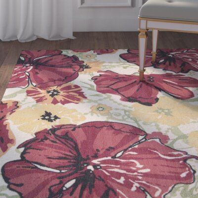 Whitby Ivory/Red Area Rug