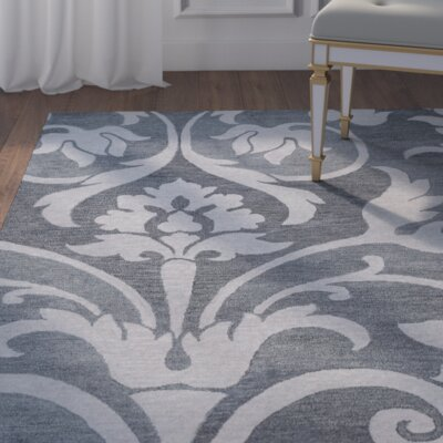 Southwell Hand-Tufted Gray Area Rug Rug Size: Runner 26 x 8