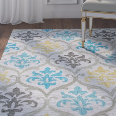 Ilfracombe Hand-Tufted Multi Area Rug Rug Size: Runner 2'6