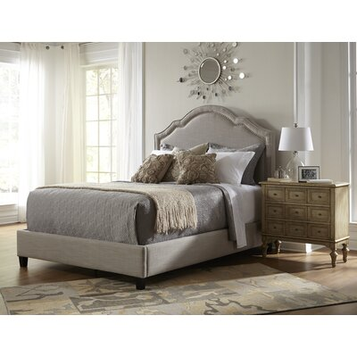 Gwyneth Upholstered Panel Headboard Size: Queen