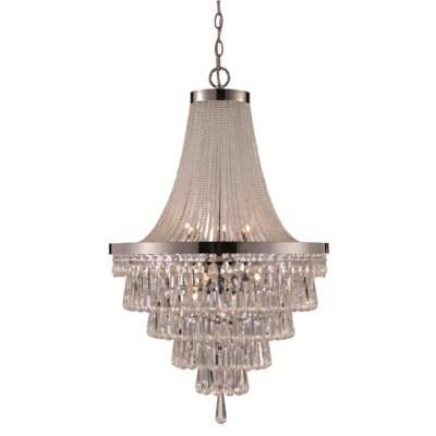 Larissa 9-Light Empire Chandelier