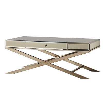 Desid�rio Coffee Table Color: Champagne Gold