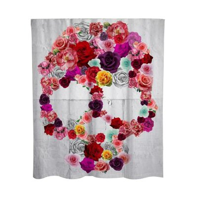 Wellman Bed of Roses Shower Curtain
