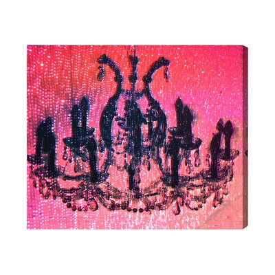Diamond Burst Graphic Art on Wrapped Canvas Size: 15