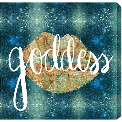 Goddess Graphic Art on Wrapped Canvas Size: 12