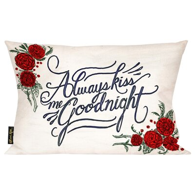 Wallis Home Goodnight Throw Pillow