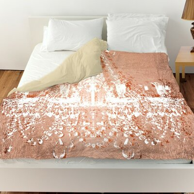 Wallis Dramatic Entrance Rose Duvet Cover Size: Queen