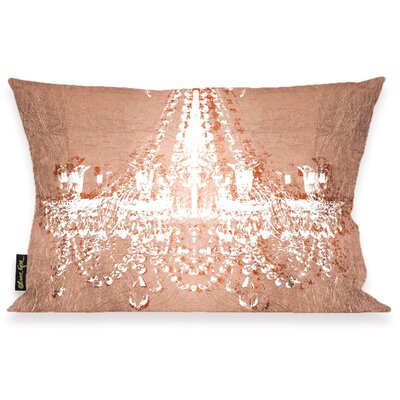 Wallis Dramatic Entrance Rose Lumbar Pillow