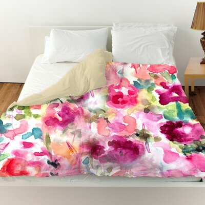 Wallis In Wonderland Duvet Cover Size: King