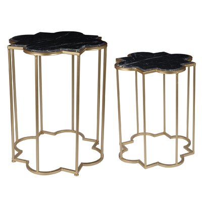 Claes 2 Piece End Table Set