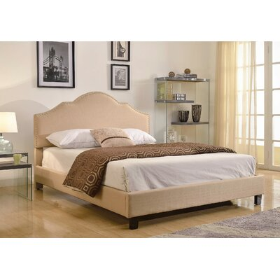 Aleda Upholstered Platform Bed Size: Full, Upholstery: Grey