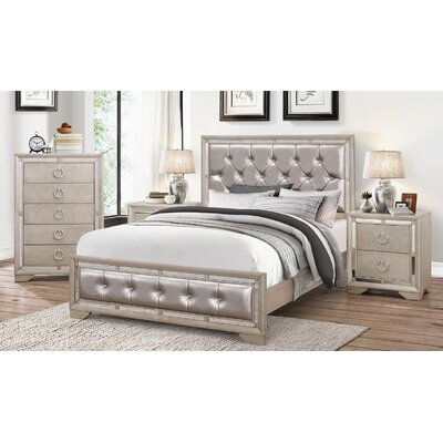Greenwich Panel 4 Piece Bedroom Set Size: California King