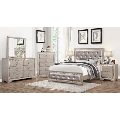 Greenwich Panel 6 Piece Bedroom Set Size: California King