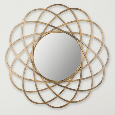 Gold Metal Wall Mirror Finish: Antique Gold