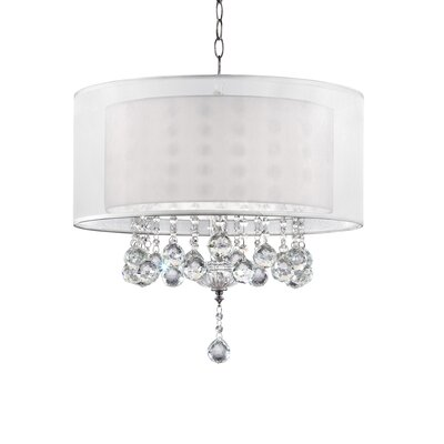 Jeremy 3-Light Crystal Pendant