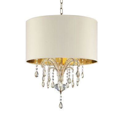 Whately 3-Light Crystal Pendant