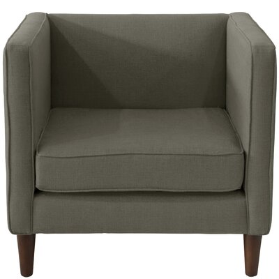 Joanne Fabric Arm Chair Color: Charcoal