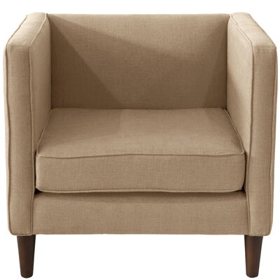 Joanne Fabric Arm Chair Color: Linen