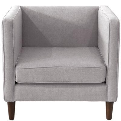 Joanne Fabric Arm Chair Color: Pumice