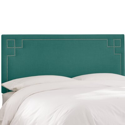 Joanne Upholstered Panel Headboard Size: Twin, Upholstery Color: Laguna