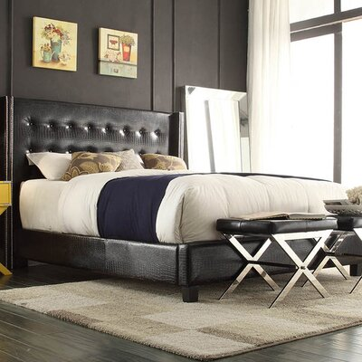 Julie Upholstered Panel Bed Size: Full