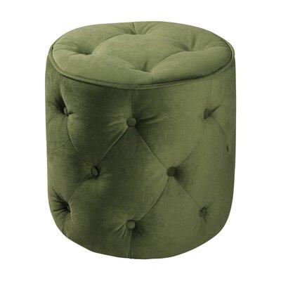 Elvie Ottoman Upholstery: Spring Green