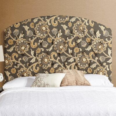 Lesa Curved Upholstered Headboard Size: Tall Queen