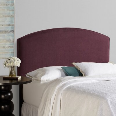 Lesa Curved Upholstered Headboard Size: Queen