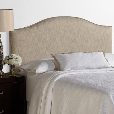 Lesa Arched Upholstered Headboard Size: Full