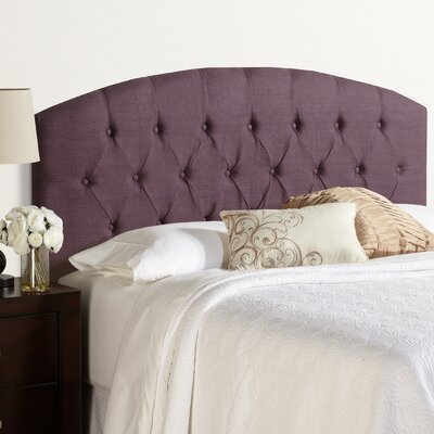Lesa 100% Linen Curved Upholstered Headboard