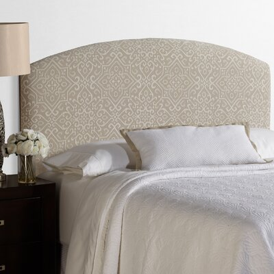 Lesa Palermo Upholstered Headboard Size: Queen