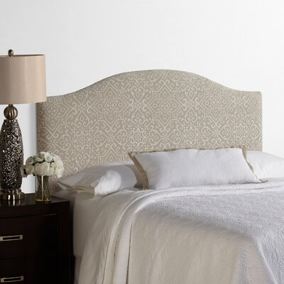 Lesa Palermo Upholstered Headboard Size: King