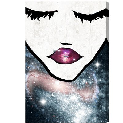 'Cosmic Coveted' Painting Print on Wrapped Canvas
