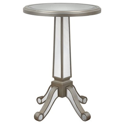 Corby Pedestal End Table