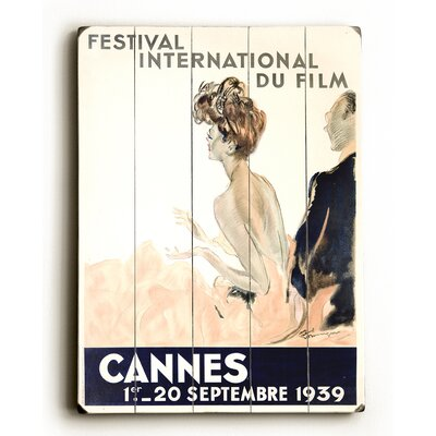'1939 Cannes Film Festival' Vintage Advertisement	 Size: 16