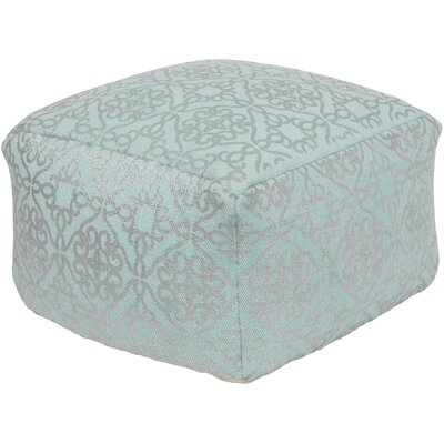 Forney Pouf Upholstery: Aqua