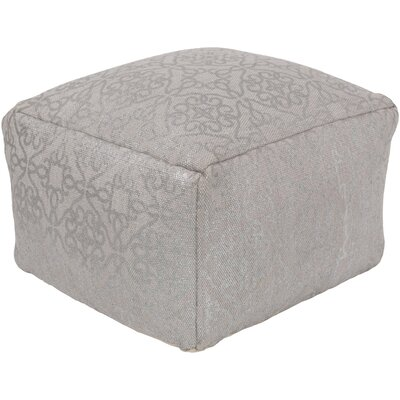 Linklater Pouf Ottoman Upholstery: Taupe