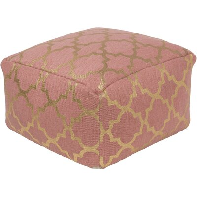 Forney Pouf Upholstery: Rose