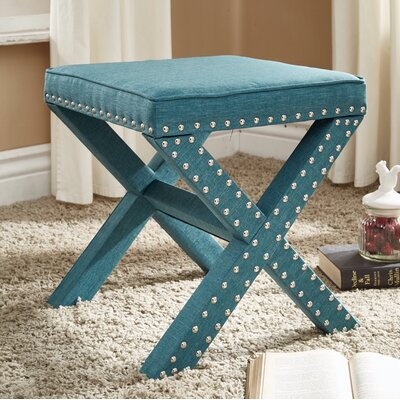 Lorenz Ottoman Finish: Teal