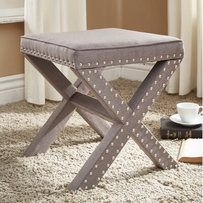 Hawking Ottoman Finish: Gray