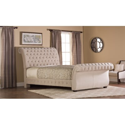 Cyrano Upholstered Sleigh Bed Size: King