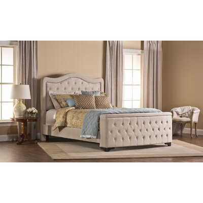 Lubitsch Upholstered Storage Panel Bed Size: Queen, Color: Buckwheat