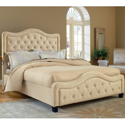 Lindsey California king Upholstered Storage Panel Bed Upholstery: Buckwheat