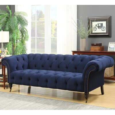 Elle Tufted Chesterfield Sofa