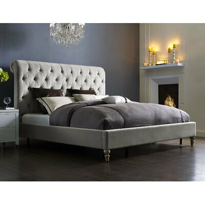 Lotte Upholstered Platform Bed Size: King