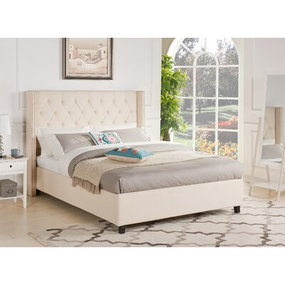 Gentry Upholstered Platform Bed Size: Queen